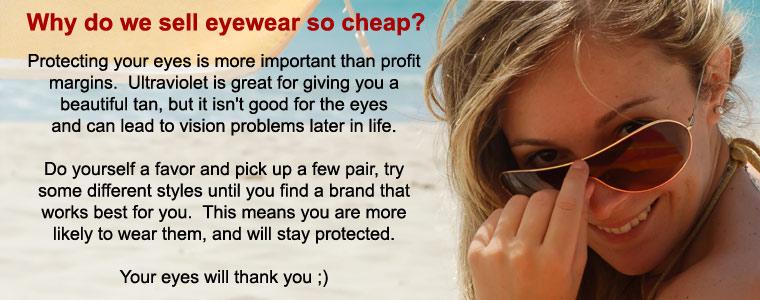 Always wear eye protection